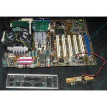 Материнская плата Asus P4PE (FireWire) с процессором Intel Pentium-4 2.4GHz s.478 и памятью 768Mb DDR1 Б/У (Набережные Челны)